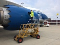 Volga-Dnepr Technics Moscow successfully prepares and provides certification for its line maintenance station in Belgium